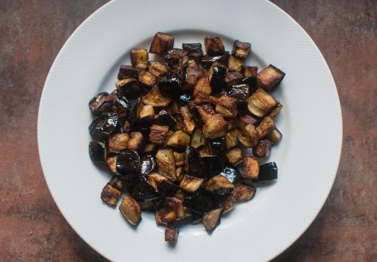 Caponata eggplant